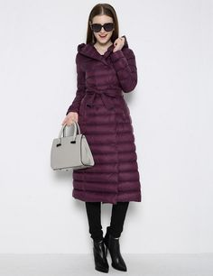 Winter Jacket Women Long duck Down jacket and coat Hooded ultra light parka thin Warm Outerwear 2015 fashion-in Down & Parkas from Women's Clothing & Accessories on Aliexpress.com | Alibaba Group US $72