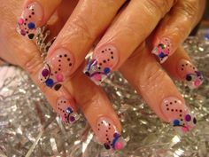 Crazy Acrylic Nails - Nails which are well cared for make a favorable perception on your individuality. Crazy Acrylic Nails, Clear Acrylic Nails, Crazy Nail Art, Crazy Nails, Clear Nails, Clear Nail Designs, Crazy Nail Designs, Nail Polish Designs, Acrylic Nail Designs
