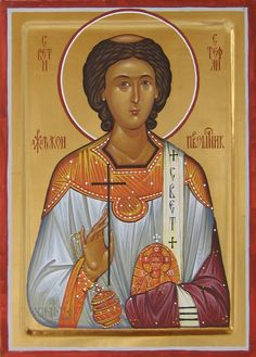 Sv. Stefan prvomucenik | 21 x 30 cm | damir mladenovic | Flickr Religious Icons, Religious Art, Saint Stephen, Russian Icons, Orthodox Christianity, Icon Collection, Orthodox Icons, Christian Music, Byzantine