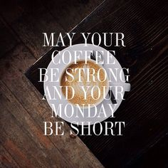 Gorgeous Couture // May your coffee be strong