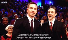 James and Michael