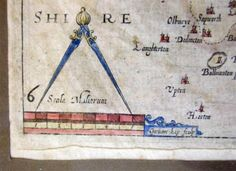Wiltshire-Camdens-Britannia-c-1610-hand-coloured-antique-map-William-Kip