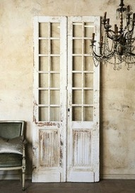 Shabby Chic Decor idea 5065760947 - Creatively shabby images to build a shabby but charming shabby chic home decor rustic . The fantabulous ideas pinned on this not so shabby day 20191023 Modern French Country, French Country House, French Country Decorating, Rustic French, Rustic Chic, Vintage Doors, Shabby Vintage, Antique Doors, Vintage Style