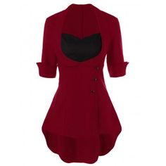GET $50 NOW | Join Dresslily: Get YOUR $50 NOW!http://m.dresslily.com/lace-up-high-low-hem-peplum-blouse-product2003078.html?seid=2799n7IOh4b0dGfSGI37lMvIU0