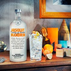 The taste of Absolut Mandrin is complex, smooth and mellow. A fruity character of mandarin and orange mixed with a note of orange peel.