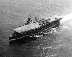 USS Cabot (CVL-28) July 1945
