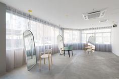 Japanese Design Firm SIDES CORE Reduces the Hair Salon Down to Its Essentials