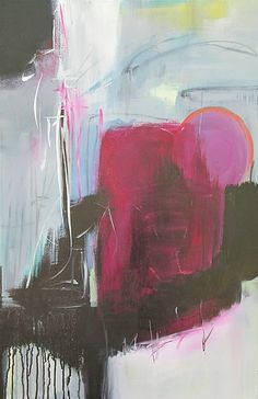 Raspberry Jam by Jane Robinson: Acrylic Painting available at www.artfulhome.com
