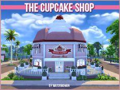 Akisima Sims Blog: The Cupcake Shop • Sims 4 Downloads