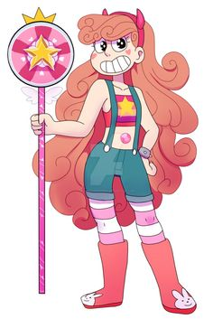 If Star Butterfly and Steven Universe fused. Steven Universe Fan Fusions, Steven Universe Funny, Disney Crossovers, Cartoon Crossovers, Character Art, Character Design, Fandom Crossover, Universe Art, Star Butterfly