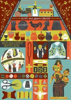 Ditchling - Alice Pattullo Illustration  I think I love her. I want to fill a whole wall with her prints.