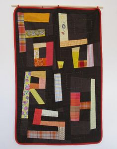 Flourish - words on quilts