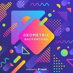 Graphic Design Company, Web Design, Logo Design, Poster Background Design, Geometric Background, Youtube Banner Backgrounds, Digital Art Beginner, Event Poster Design, Illustrator Tutorials