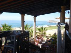 Amaizing view at Girasoles Restaurant, Hacienda del Mar Resort.