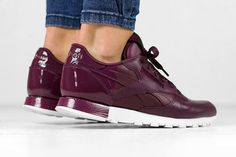 Reebok have hit the bullseye with this new women's Classic Leather Matte Shine…