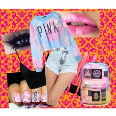 """""""pINKK"""" by jacolacook on Polyvore"""