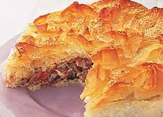 Creamy Smoked Chicken Filo Pie recipe from Food in a Minute