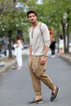 New York Fashion Week Spring 2015 Attendees || Streetstyle Inspiration for Men! #WORMLAND Men's Fashion