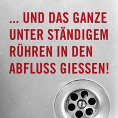 "Kühlschrankmagnet ""Abfluss"" - Metall & Magnetschilder - Bilder"