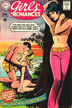 1968 romance comic cover by angelia Vintage Pop Art, Vintage Comic Books, Vintage Comics, Retro Art, Comic Books Art, Comic Art, Vintage Romance, Old Comics, Comics Girls