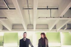 Sheffield City Centre Urban Pre-Wedding Photography, Katherine & Stuart - Tierney Photography