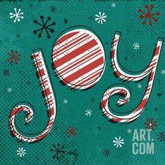 Holiday Joy I Art Print by A Fresh Bunch at Art.com