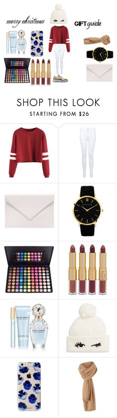"""wishlist"" by laniqua-mosley ❤ liked on Polyvore featuring Miss Selfridge, Verali, tarte, Marc Jacobs, Kate Spade and Sonix"