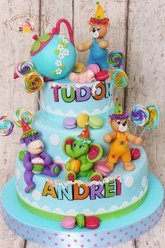 Tort botez candy pentru Tudor Andrei