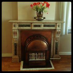 fireplace @Hotel Haas aan het Vrijthof in Maastricht