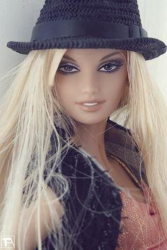 Fedora Fashion Barbie, Flickr