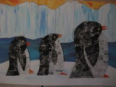 newspaper penguins--i want to do this for me!