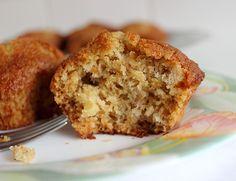 Apple, honey and whisky moist muffins