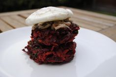 Hungry Healthy Happy - Beetroot Fritters - I think this meal ticks all the boxes. It is healthy and low in calories too, it is really cheap to make, it is delicious and it is ready in just 10 minute Vegetarian Beetroot Fritters, bikini body, bikini diet, bodyrock, budget bites. healthy budget meals, calories, cardio, couch to 5k, detox, diet, emotional eating, exercise, fat, fitness, fitspiration, food, food blog manchester, foodie, guest post, health, healthy, hungry healthy happy…