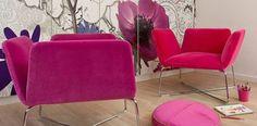 contemporary armchair MANTA by Piotr Kuchcinski NOTI