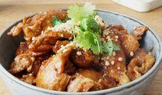 Crockpot- Sweet chilikyckling med jordnötssmör – Lindas Mathörna Actifry, Kung Pao Chicken, Slow Cooker Recipes, Chicken Wings, Love Food, Crock Pot, Meat, Ethnic Recipes, Slow Cooking