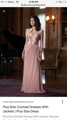 Tienda Online Elegant Sheath Spaghetti Straps Beads Floor Length Chiffon Mother of the Bride/ Groom Dress with Jacket Formal Evening Gowns Bridesmaid Dresses, Prom Dresses, Formal Dresses, Bride Dresses, Bridesmaids, Cheap Dresses, Dresses 2013, Dress Prom, Pink Dress