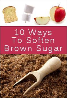 I am so glad that I found this, my life has completely changed since pinning this. My brown sugar is always hard and I can never seem to keep soft, even just minutes after buying it. Seriously repin this pin. It will change the way you look at brown sugar forever.