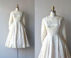 Signora wedding dress | 1950s wedding dress • vintage brocade 50s dress