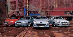 Peugeot 407 kontra Toyota Avensis VW Passat i Volvo S60: porównanie sedanów z silnikiem Diesla #EasyNip