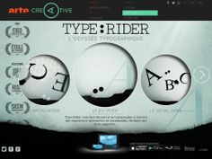Type:Rider L'Odyssée typographique History Of Typography, Rider, Social Games, Adventure, Digital, Art, Letterpress Printing, Fairytail, Adventure Nursery