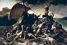 LE LOUVRE  le radeau de la Méduse   Géricault