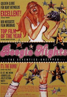 """"""" Boogie Nights (1997), Germany Poster """""""