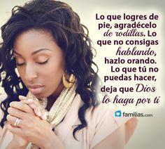 Agradece y confía en Dios