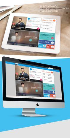 Infigo Labs - iVote app concept