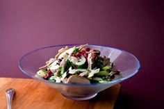 Turkey and wild rice salad recipe (Photo: Andrew Scrivani for The New York Times)