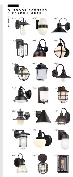 Roundup: Outdoor Sconces + Porch Lights Under $150, Room for Tuesday