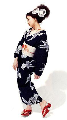 Goldfishes Kimono