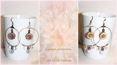 les creas de sandrine couleurs printemps 17 Artisanal, Candle Holders, Candles, Jewelry Designer, Fantasy, Spring, Colors, Porta Velas, Candy