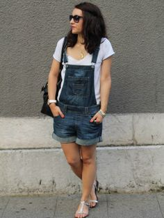 #jeans #Dungaree by lebazardalison on STYLIGHT