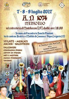 Italia Medievale: A. D. 1074 Medioevo a Montefiascone (VT)